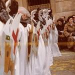 Detall escut fusta 1983