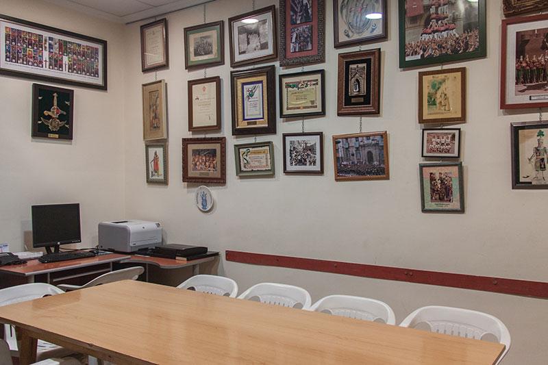 Despacho Junta Directiva de la Filá Alcodianos