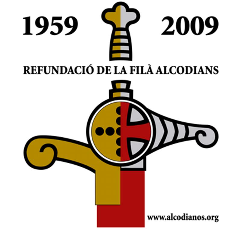 1959-2009 Refundació de la filá alcodianos