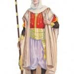 Boceto propuesta traje moro 1959